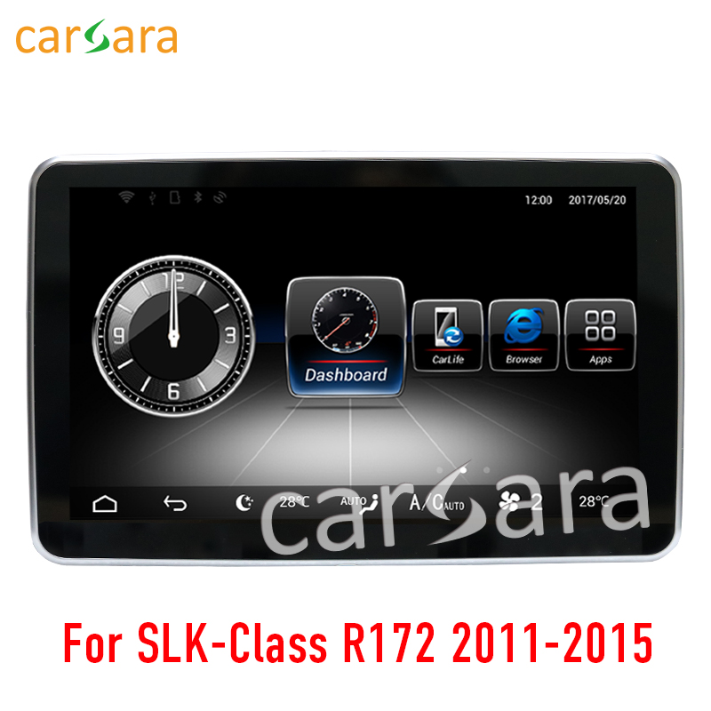 9 Android Navigation display for Mercedes Benz SLK Class R172 2011 2015 touch screen GPS stereo