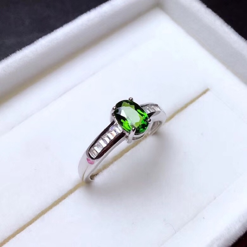 HTB179 lbcfrK1Rjy1Xdq6yemFXaP - Natural Tested Diopside Rings for Women  925 Sterling Silver