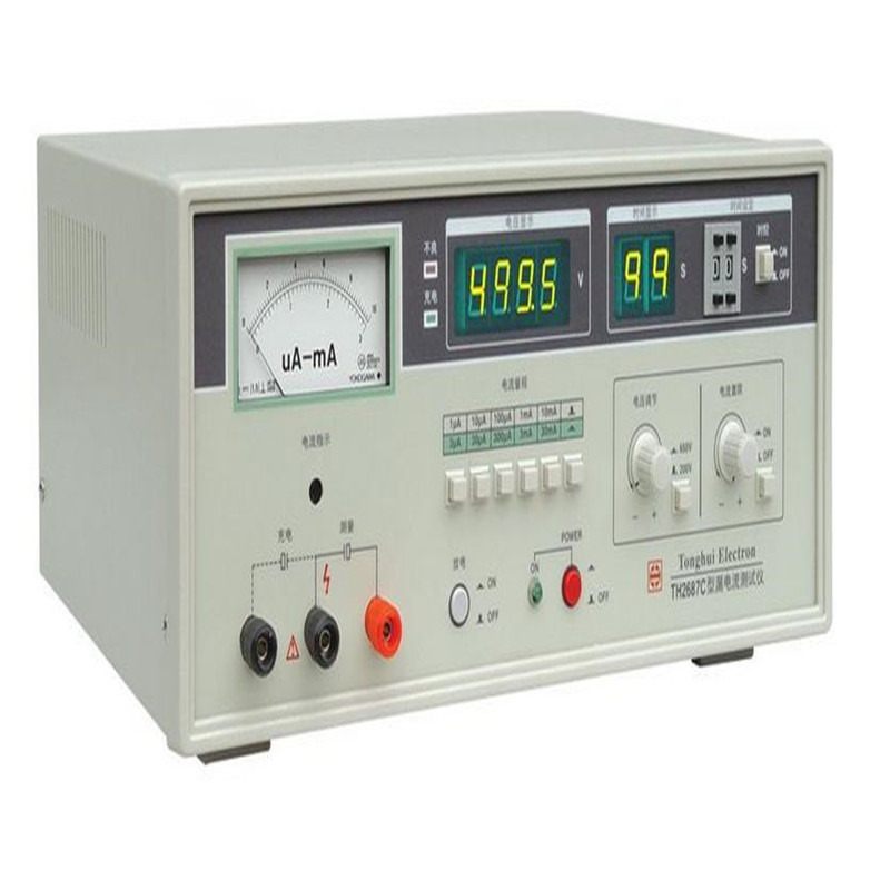 HOT SALE 0 650V 0 1u 30mA AC current pointer indication Electrolytic Capacitor Leakage Current Meter