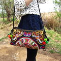 National Trend Embroidered Bags Double Face Embroidery Bag Unique Shoulder Messenger Bag Women's Day Clutch Small Handbag
