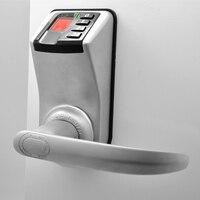 LACHCO пальцев замок доступа Управление Адель 3398 ручка Trinity биометрических пароль Keyless электронный Smart Lock