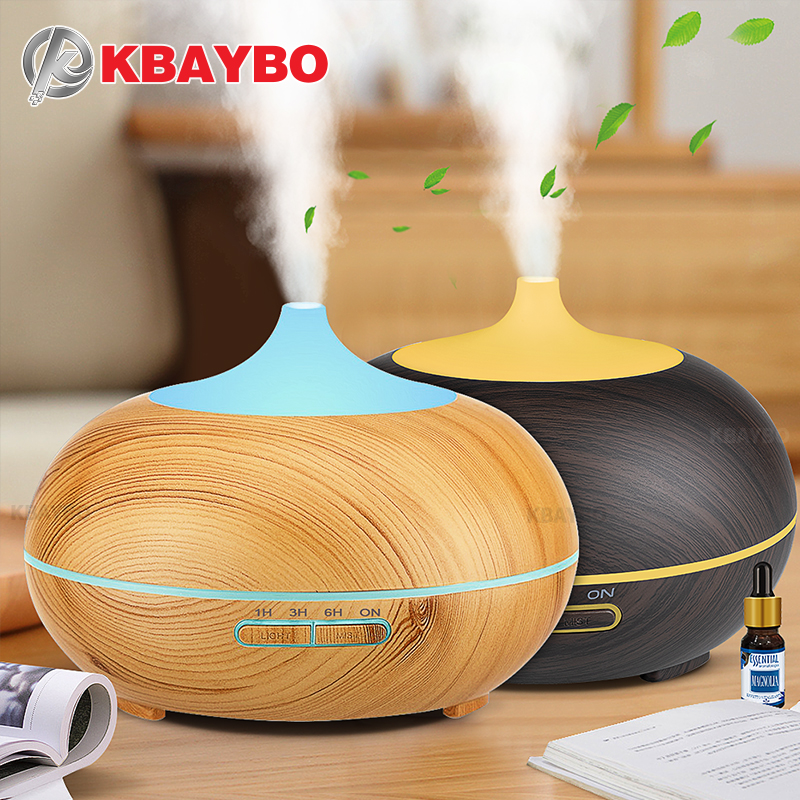 цены 300ml Aroma Diffuser Aromatherapy Wood Grain Essential Oil Diffuser Ultrasonic Cool Mist Humidifier for Office Home