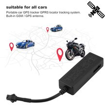NEWCar GPS Tracker Vehicle Tracker GPS Locator GSM GPRS Real Time Tracking Anti-theft Device Protect Privacy with 2P Cable