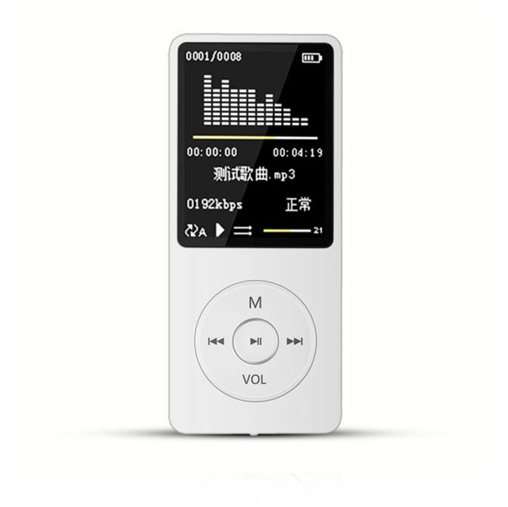 NEW FASHION MP3 Player FM Portable LCD Screen HiFi Lossless