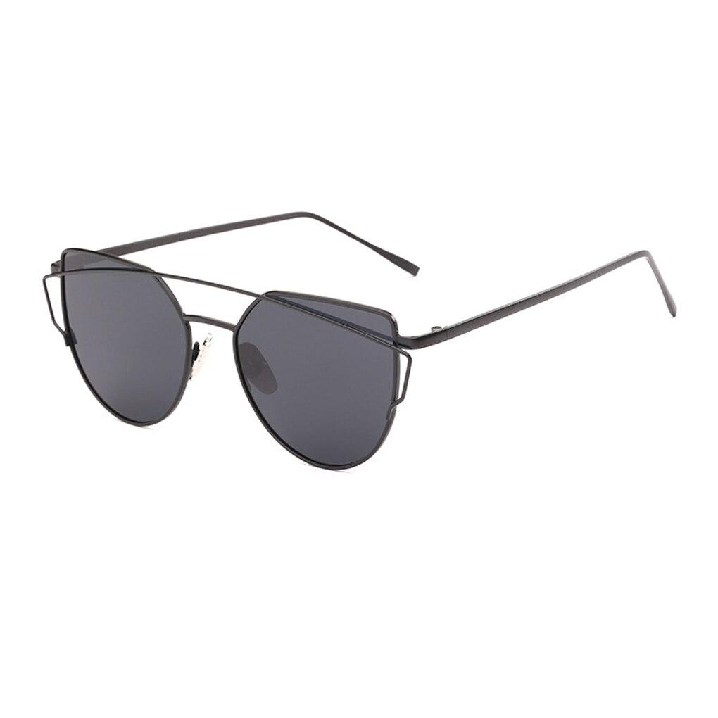 っWomen Cat Eye Sunglasses Classic Brand Designer Twin-Beams ...