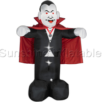 2016 Hot Sale 3m Giant Inflatable Vampire For Halloween Decoration