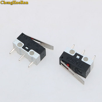 ChengHaoRan 1pcs Limit Switch Push Button Switch 1A 125V AC Mouse Switch 3Pins Micro Switch image