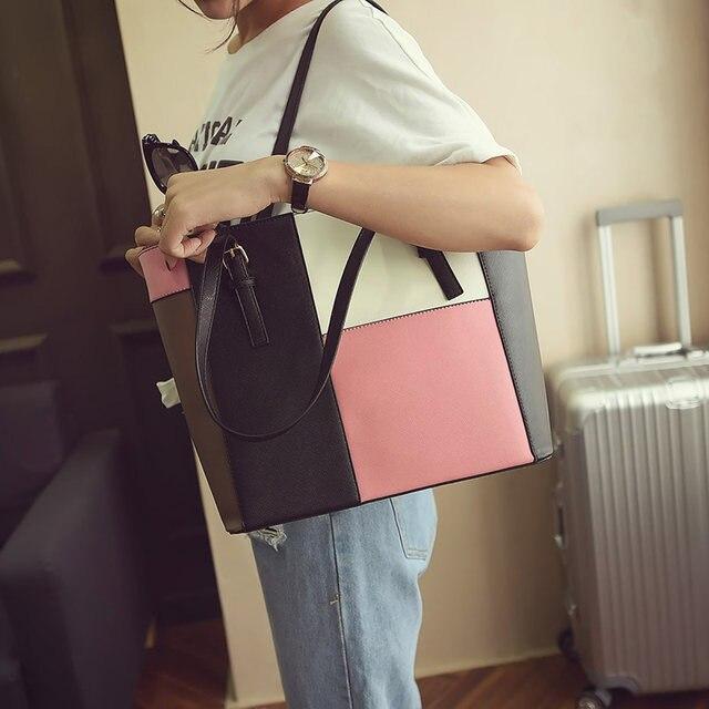 Women Bags 2018 Designer Bolsas Victor Hugo Leather Handbag Obag Handles Ping Bag Messenger Shoulder