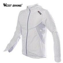 WEST BIKINGขี่จักรยานWindcoatจักรยานจักรยานกีฬากลางแจ้งเสื้อผ้าทำงานเสื้อแขนยาวWindproofกันน้ำ