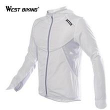 Ветровка велосипедная WEST BIKING с длинным рукавом, спортивная уличная куртка, ветрозащитная водонепроницаемая одежда