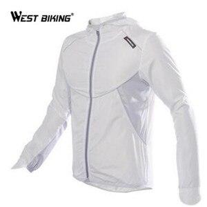 Image 1 - Ветровка велосипедная WEST BIKING с длинным рукавом, спортивная уличная куртка, ветрозащитная водонепроницаемая одежда