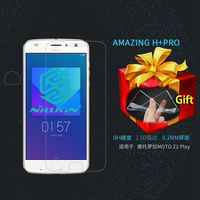 NILLKIN Amazing H PRO 2 5D Tempered Glass For Motorola Moto Z2 Play Screen Protector For