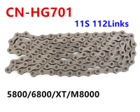 Shimano HG601 Chain CN HG701 Hg901 Ultegra 11 Speed Chain 5800 6800 XT M8000 Road Mtb