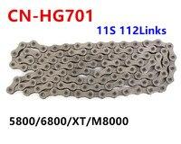 shimano HG601 chain CN HG701 hg901 Ultegra 11 Speed Chain 5800 6800 XT M8000 road mtb cycling bike Chains