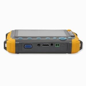 Image 2 - 5 بوصة 4 في 1 HD CCTV تستر رصد AHD CVI TVI CVBS فاحص الكاميرا 8MP 1080P VGA HDMI المدخلات PTZ UTP كابل تستر 12 فولت