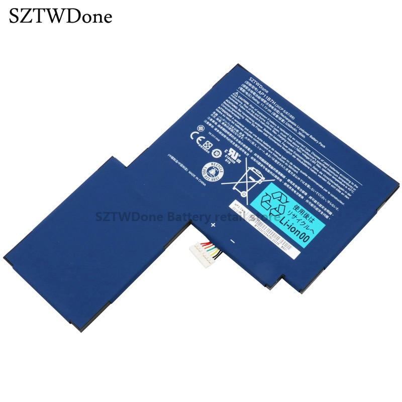 SZTWDone Original Laptop battery for ACER Iconia Tab W500 W501 W500P Tablet AP11B7H AP11B3F BT.00303.024 BT.00307.034 acer iconia 501 в перми