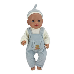 Image 4 - ตุ๊กตาใหม่กระโดดเหมาะสำหรับตุ๊กตาเด็ก 43 ซม.17 นิ้วตุ๊กตาเด็กทารกRebornตุ๊กตาเสื้อผ้า