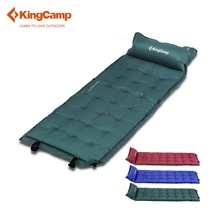 KingCamp Camping Mat Self-Inflating 200cm Camping Pad Sleeping mattress with Pillow Inflatable bed For Outdoor Camping Hiking(China)