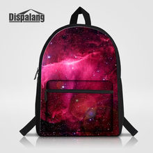 38fe4f7e0823 Dispalang Cotton Laptop Backpack Universe Space Galaxy Star School Bags for  Teenage Notebook Shoulder Bag Kids School Backpack