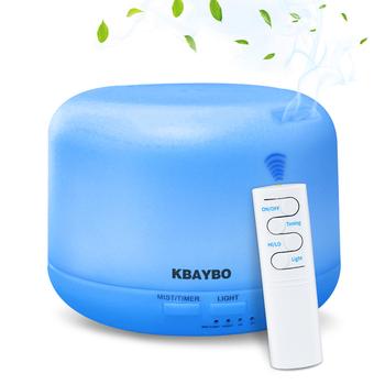 300ML USB ultradźwiękowy zapachowy nawilżacz powietrza z 7 kolorowe światła elektryczne do aromaterapii dyfuzor zapachowy pilot zdalnego sterowania tanie i dobre opinie KBAYBO 36db Mgła absolutorium Aromaterapia Household Klasyczne kolumnowy 21-30 ㎡ Remote Control Nawilżania LFGB