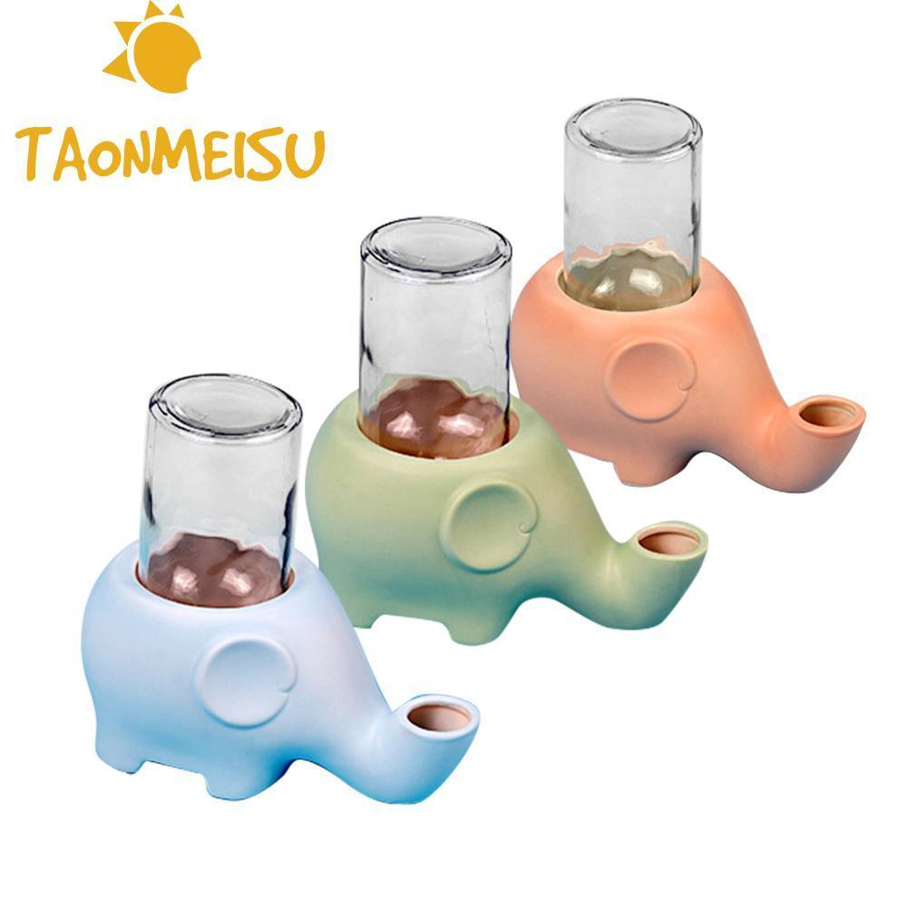 Più nuovo Pet Bevitori di forma di Elefante Animale Domestico del Cane Del Gatto Bevitore di Ceramica di Vetro di Alimentazione animale da compagnia ciotola ciotola di acqua cibo fornitori