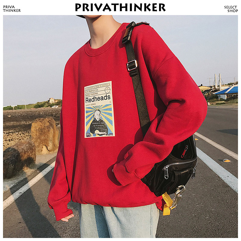 Privarthinker Autumn Men Grey Hoodies 2020 Japanese Streerwear Hip Hop Hoodie Funny Print Man Sweatshirts Harajuku Pullover