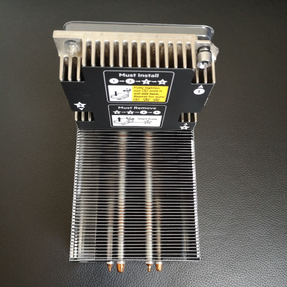 Server fan heatsink 879150 001 867625 001 879207 001 for ML350 G10 ML350G10 high performance radiator