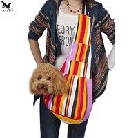 [TAILUP]Pet Dog Carrier Bag Sling Single Shoulder Pet Bag Carrier Holder with Adjustable Strap Pet Cat Slings Carry Bag PP010R