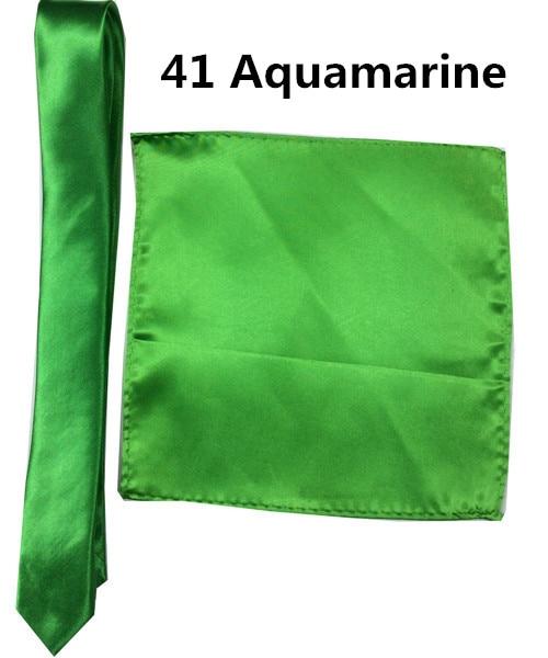 41 _  39 Colours Man Polyester Silk Pocket Sq. Tie Go well with Set Hanky Groom Wedding ceremony Fits Enterprise Handkerchief Necktie ZY186117 HTB179ffbKUXBuNjt a0q6AysXXaX