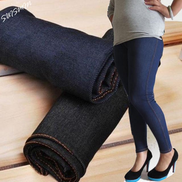 Women Jeggings Plus Size XL-XXL Jeggings Jeans for Women Polyester Spandex for Ladies 60-110kg