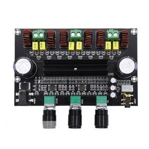 Image 2 - M573 TPA3116 D2 80Wx2 + 100 Вт 2,1 канальный аудио цифровой усилитель мощности, плата бас сабвуфера с предусилителем NE5532