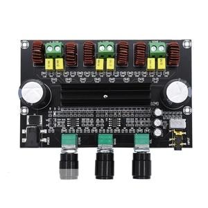 Image 2 - M573 TPA3116 D2 80Wx2 + 100W 2.1 채널 오디오 디지털 전력 증폭기 보드베이스 서브 우퍼 NE5532 프리 앰프