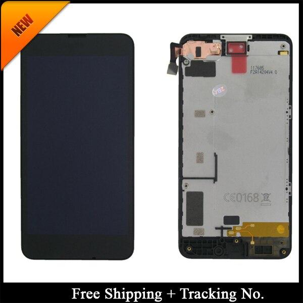 100% נבדק כיתה AAA LCD תצוגה עבור Nokia 630 עבור Nokia 630 LCD מסך מגע Digitizer עצרת עם מסגרת