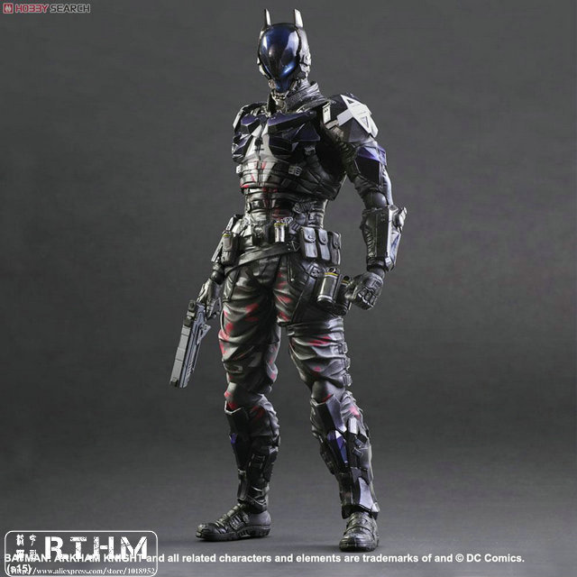 Exin DC Comics BATMAN ARKHAM KNIGHT PLAY ARTS Kai Arkham Night Action Figure neca dc comics batman arkham origins super hero 1 4 scale action figure