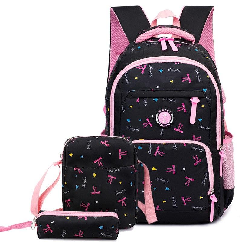 YK-Leik Star Printing Children School Bags For Girls Teenagers Backpacks Kids Orthopedics Schoolbags Backpack mochila infantil