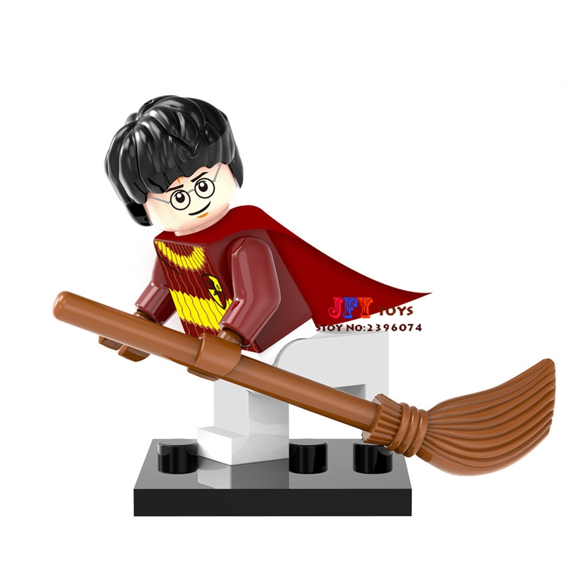 Single Sale star wars marvel Harry Potter Comics building blocks model bricks toys for children brinquedos menino