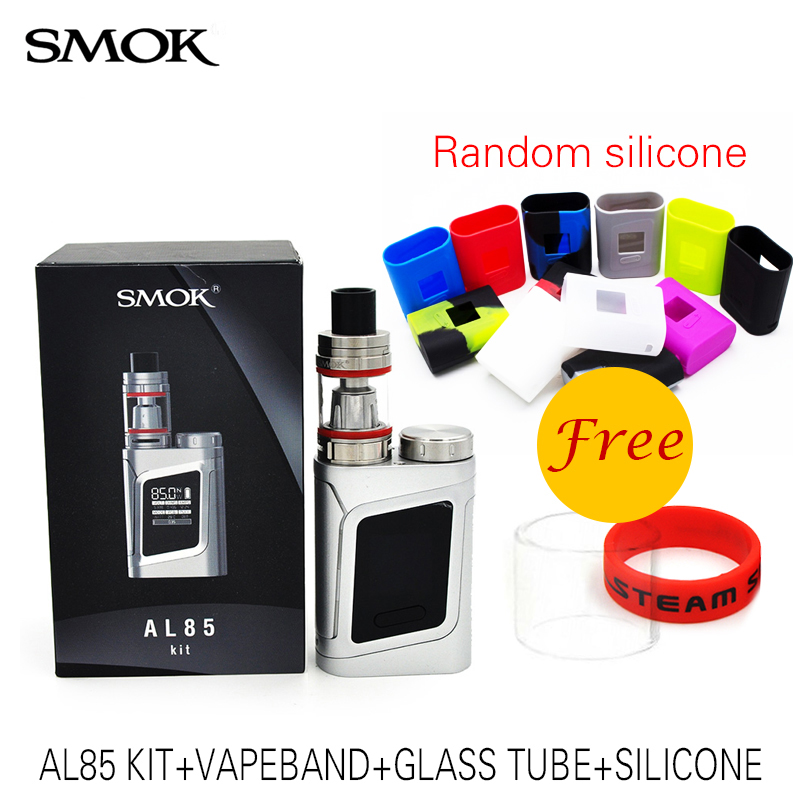 original  SMOK Alien AL85 Kit with Smok TFV8 Baby TANK 3ml 85W Vape AL85 BOX MOD alien baby kit Electronic Cigarette original 220w smok alien vape kit with 3ml smok tfv8 baby tank atomizer