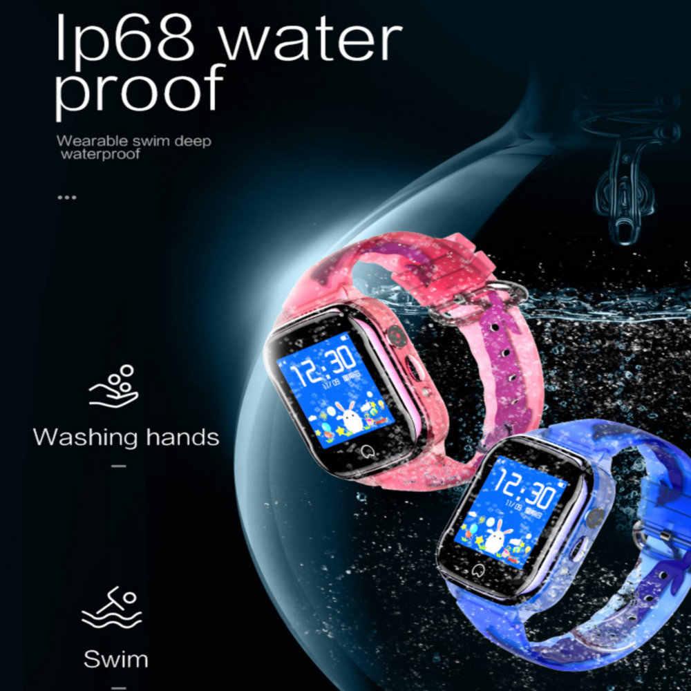 2019 New Smart GPS Watch Kids IP67 Waterproof SOS Phone Kids Smart Watch GPS Clock Fit SIM Card IOS Android Wristwatch