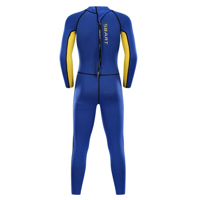 SBART 2mm One Piece Neoprene Scuba Kids Diving Suits Boys Girls Wetsuits Long Sleeve Children Swimming Rash Guards Surfing EO