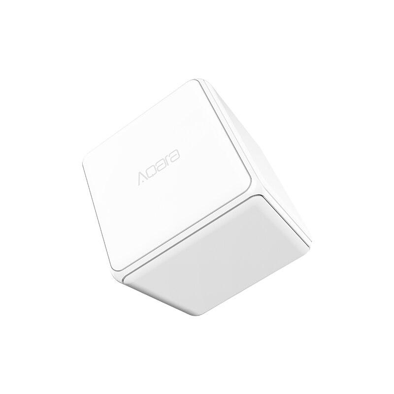 Xiaomi mi Aqara cubo mágico controlador Zigbee versión controlada por seis acciones para casa inteligente dispositivo funcione con mi jia mi casa app