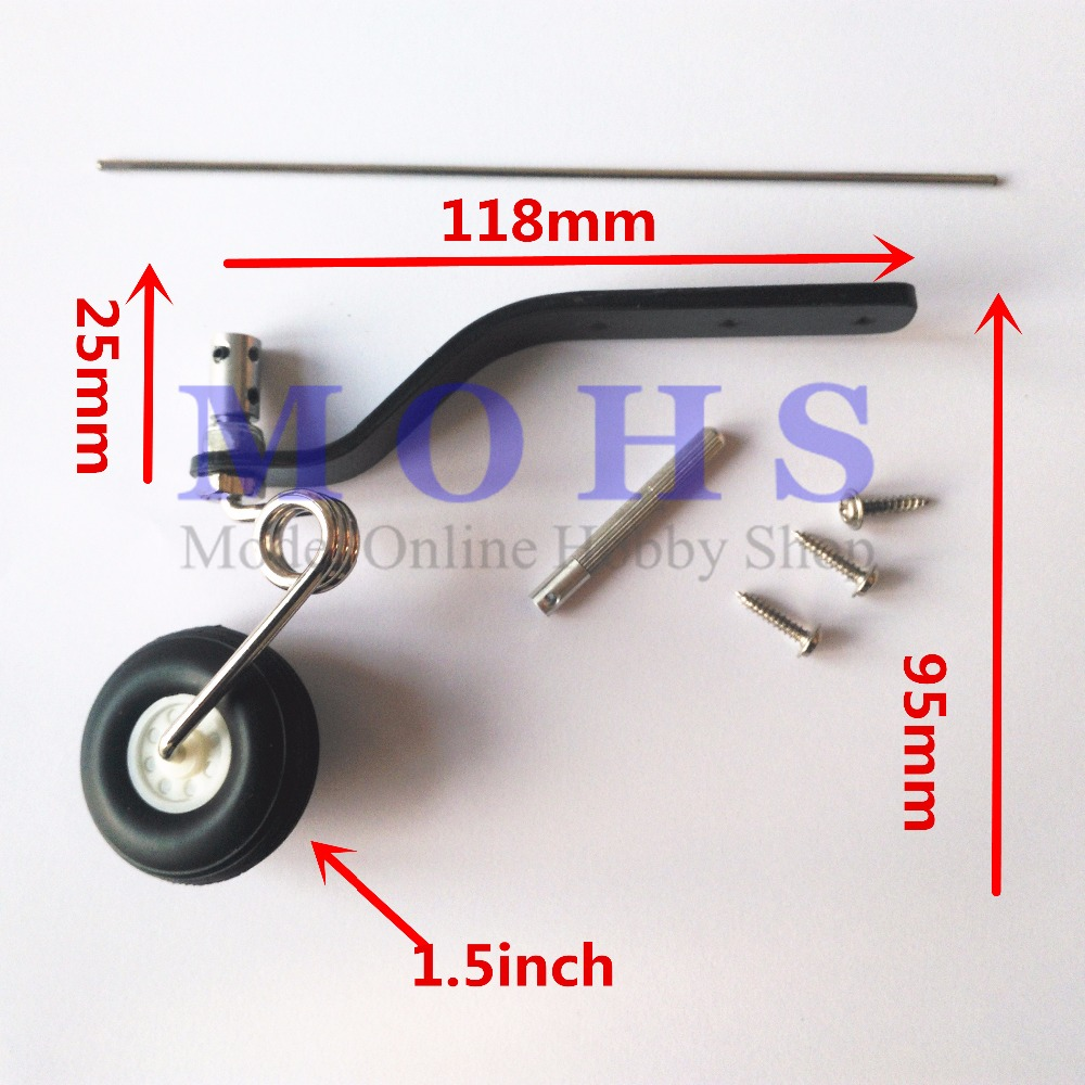 full carbon fiber tail wheel COMBO carbon fiber bracket + wheel + steering system 20cc ~ 50cc 30cc ~80cc aircraft tail wheel