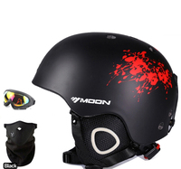 MS 86002 ABS EPS Ski Skiing Snowboard Skate Skateboard Veneer Helmet For Adult Men Women 22