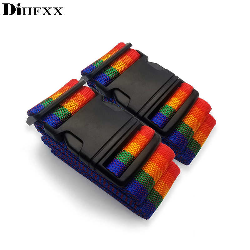 DIHFXX Adjustable Travel Luggage straps Suitcase Belts for Travel Bag Accessories For  Outdoor Camping Car Luggages viaje Box