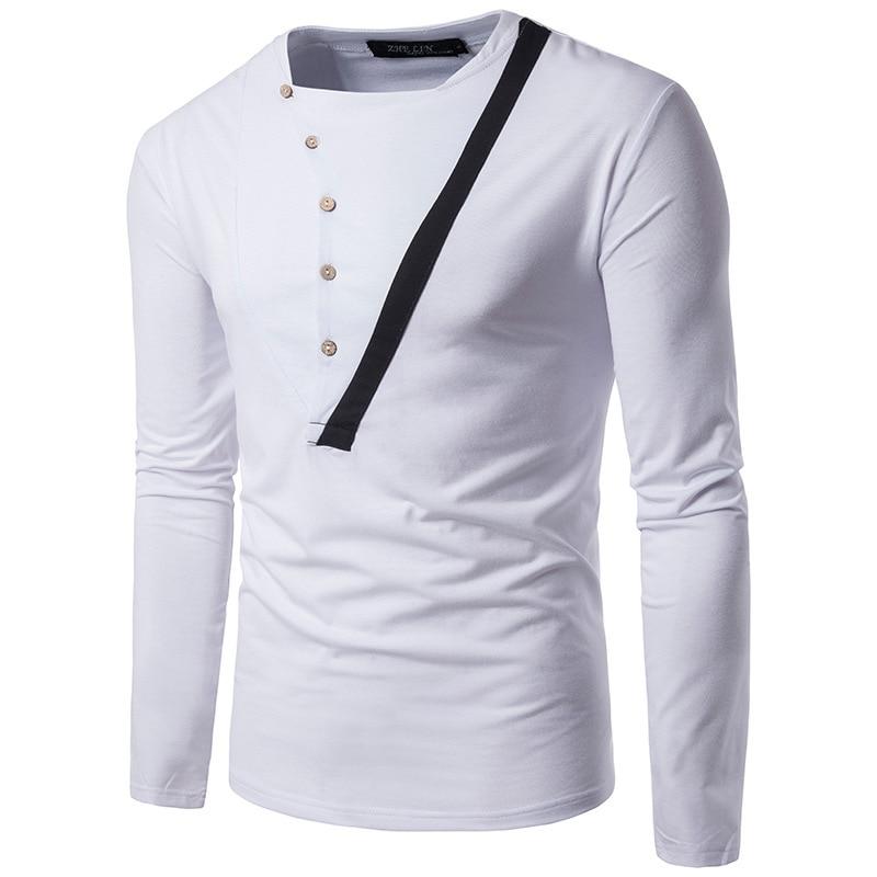 T SHIRT Fashion Mens Long//Half Sleeve Round Neck Casual  T Shirt
