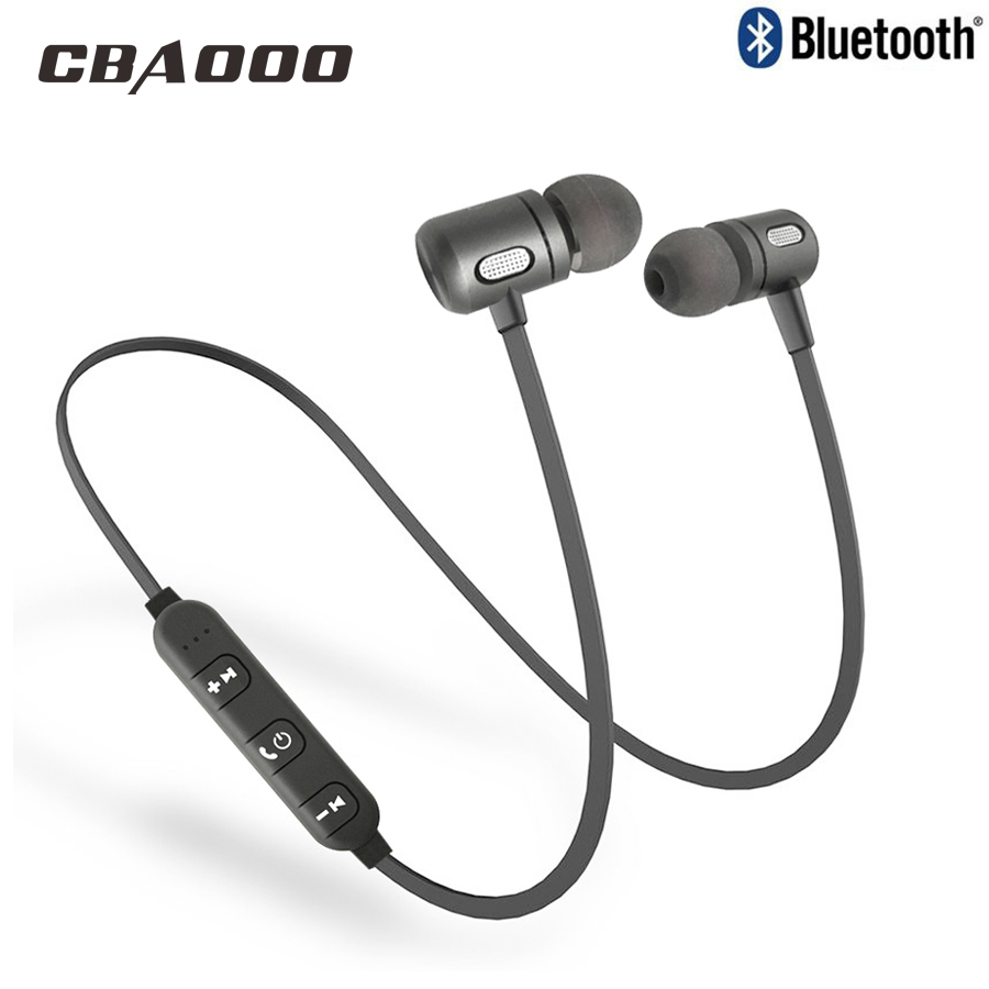 CBAOOO Bluetooth Wireless Headphones C10 Sport Headsets Running Stereo Magnet Earbuds With Mic Bluetooth Earphone For Phone цена 2017