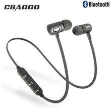 CBAOOO Bluetooth беспроводные наушники C10 спортивные гарнитуры бег стерео магнитные наушники с микрофоном Bluetooth наушники для телефона