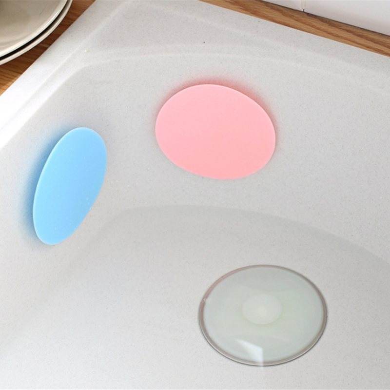 Water Stopper Tool : Pcs kitchen rubber bath tub sink floor drain plug