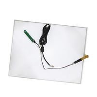 288mmx355mm Resistive Touch Screen Panel 4 Wire USB Kit For 17 Inch Monitor