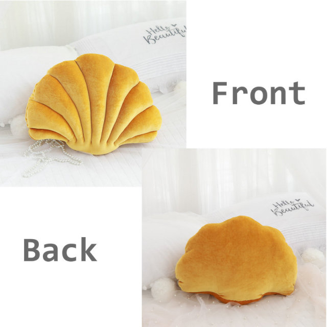 PB Velvet Seashell Pillow