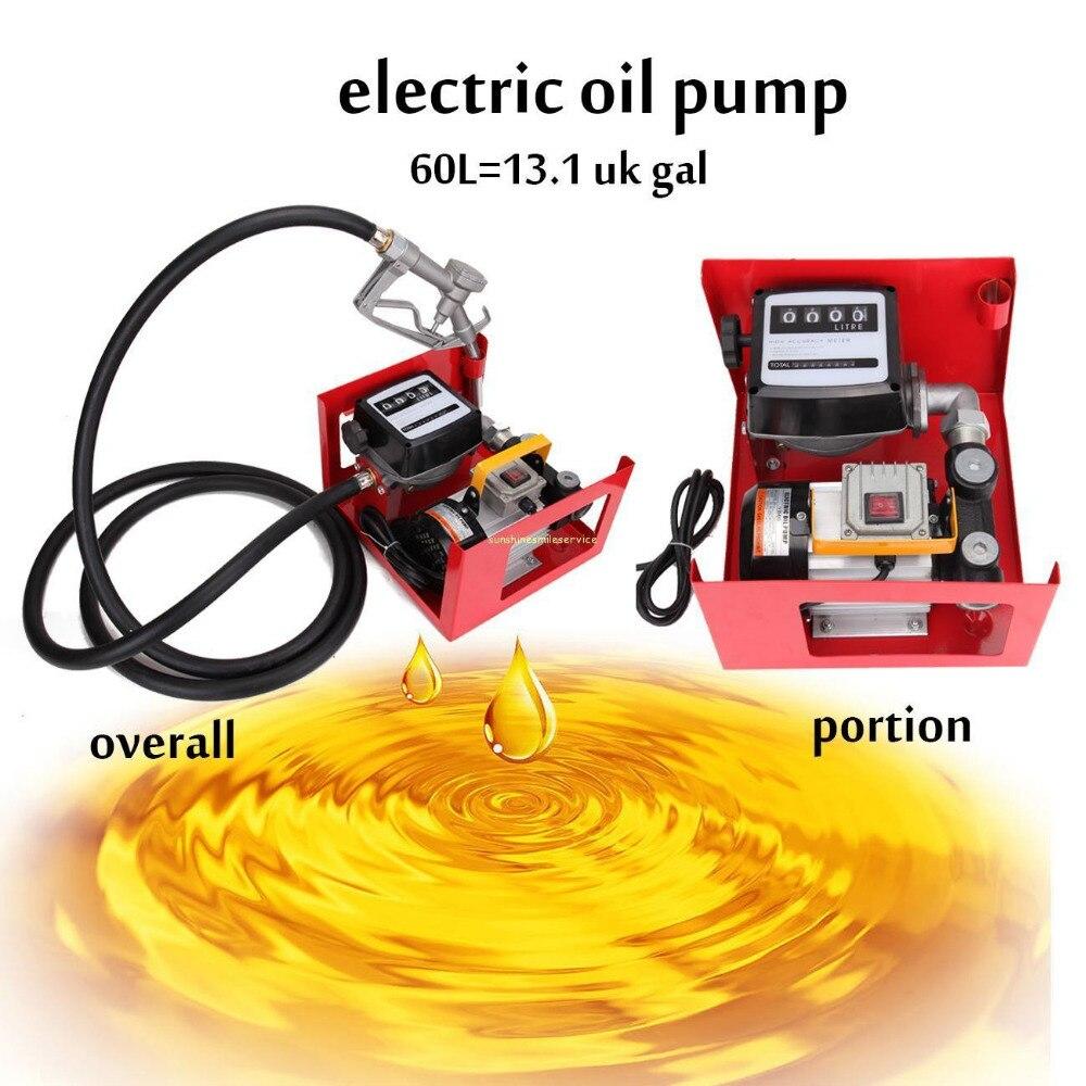 (Expédition de l'ue) pompe de transfert d'huile de pompe de transfert Diesel 220 V 550 W 60L/min